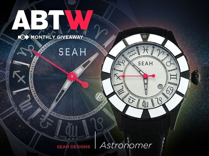 WATCH GIVEAWAY: Seah Astronomer