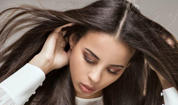 How Does Chemical Hair Straightening Work Chemically Straightened Hair Hair Straightening Treatment Japanese Hair Straightening