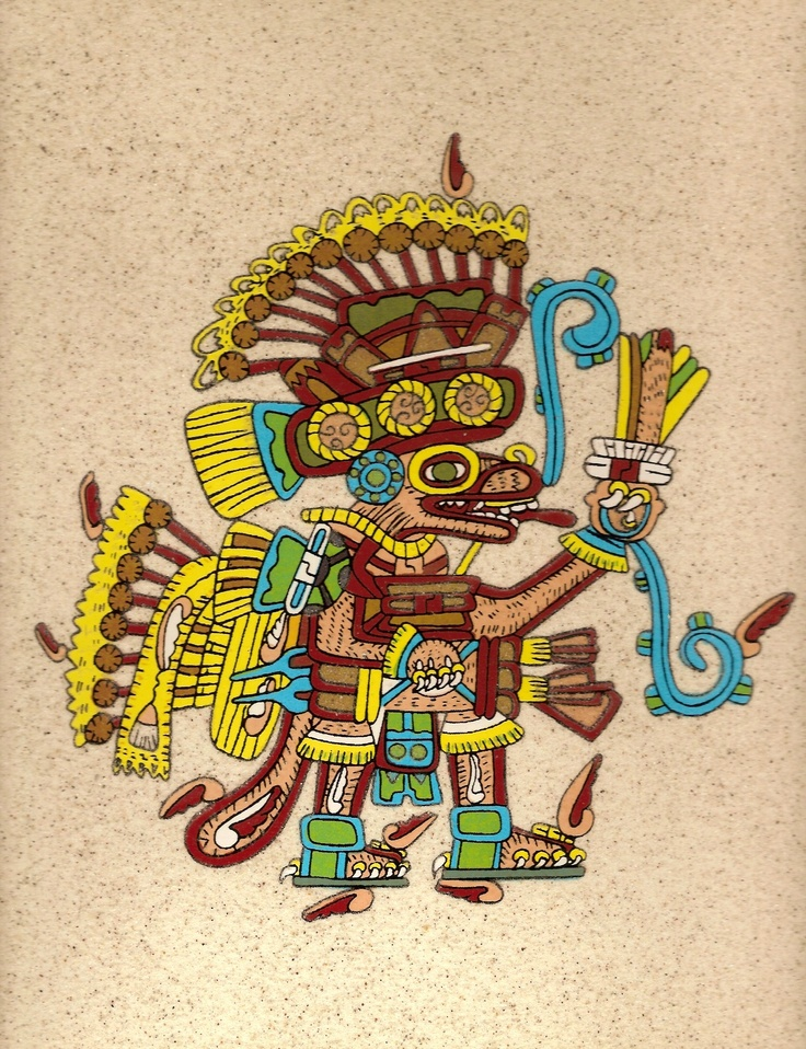 aztec myth essay - aztecs the aztecs came from azatlan which is the mythical place of origin(aztecs of lost civilization) huizilopochtli, the god of war, told the aztecs to leave azatlan and wander until they saw an eagle perched on a cactus growing out of a rock and eating a snake(los aztecas.