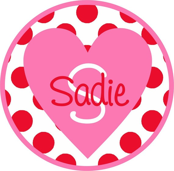 Kids Personalized Shirt Kids Valentines By