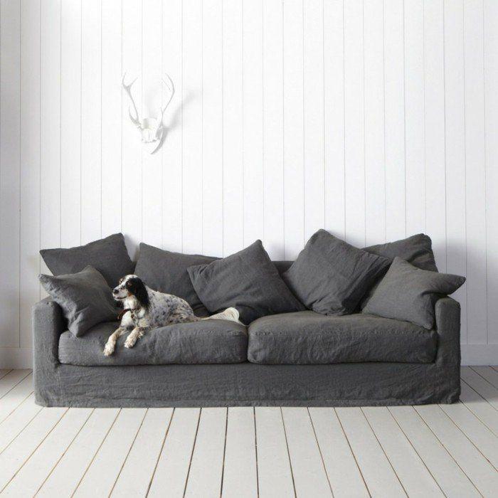 Les 25 meilleures id es de la cat gorie canap en lin sur pinterest canap oreillers canap - Comment nettoyer un canape en velours ...