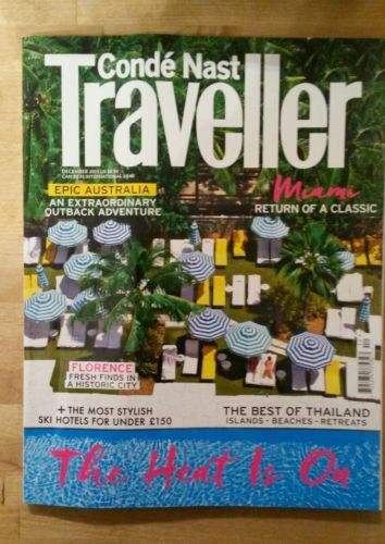 Conde nast magazine #december 2015 #travelling #holiday florence miami thailand ,  View more on the LINK: http://www.zeppy.io/product/gb/2/371581599274/