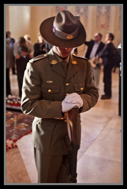 The Tomb of the Unknown Soldier at the National Australian War Memorial, Canberra