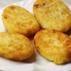Potato patties with chicken. Recipes with photos.