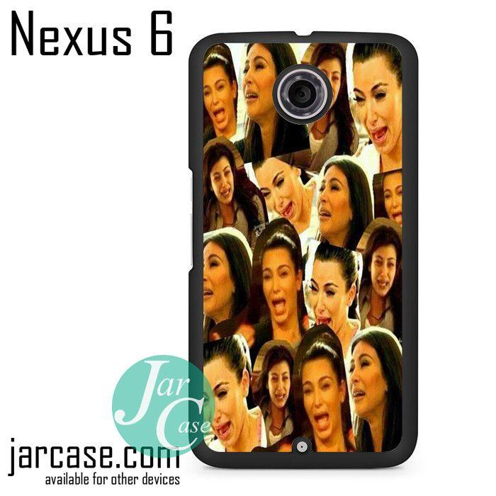 Kim Kadarshian Collage Phone case for Nexus 4/5/6