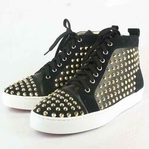Christian Louboutin men Studded Sneaker