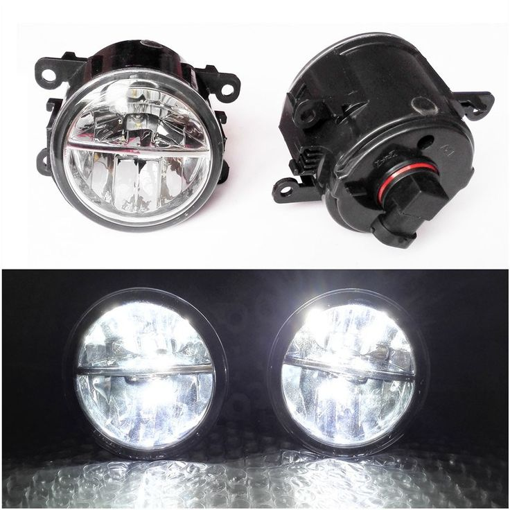 Cheaper US $27.45  For Renault MEGANE 2 Saloon LM0 LM1 2003-2015 Car Styling 6000K White 10W CCC High Power LED Fog Lamps Lights