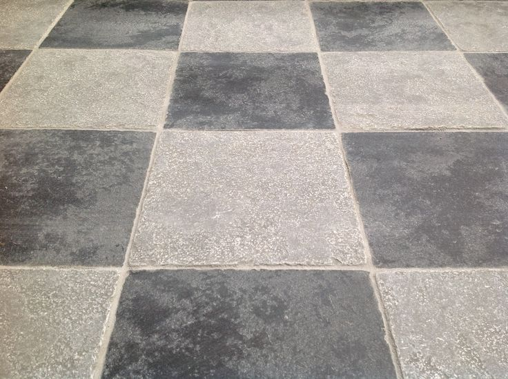 12 best quarry tiles and checkered flooring images on for Checkered lino flooring