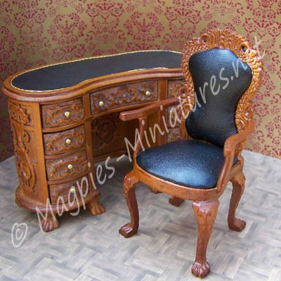 CA050   Desk Chair   Jiayi From Www.magpies Miniatures.net · Desk ChairsDoll  House ...