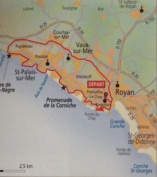 22km #bikeroute #Royan #LaGrandeCote #Charentemaritime