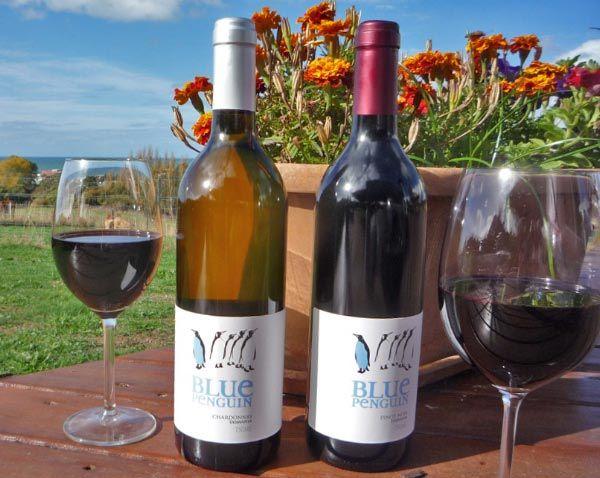 Blue Penguin Wines, Think Tasmania Prize duo.