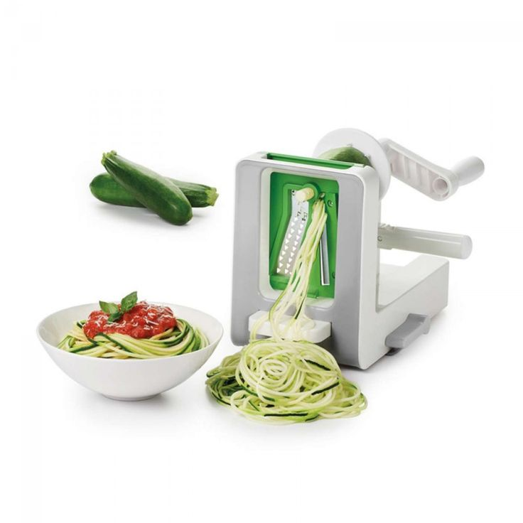 OXO Good Grips Spiralizer | Perfect for making healthy vegetable noodles as a replacement for pasta, or for beautiful summer salads! #oxo #spiralizer #kitchen #tools