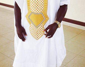 Ropa africana, camisa de los hombres, ropa hombres, camisa, bordado, mens wear, agbada