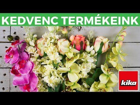 Kedvenc termékeink - Művirágok | Kika Magyarország - YouTube