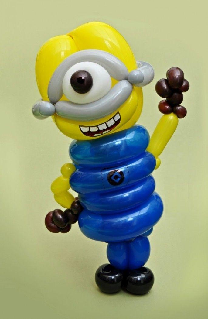 une sculpture de ballon gonflable par jour minion une sculpture de ballon gonflable par jour pendant un an Sculpture Rob Driscoll photo ...