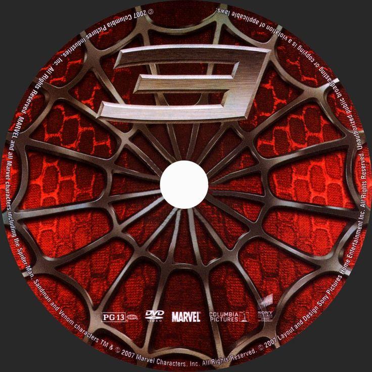 spiderman 3 custom dvd labels spiderman31 dvd. Black Bedroom Furniture Sets. Home Design Ideas