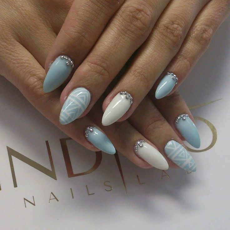 Baby Blue | indigo labs nails veneto