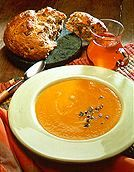 Butternut Squash, Honey and Thyme Soup