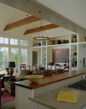 Open floor plan by Tuatha