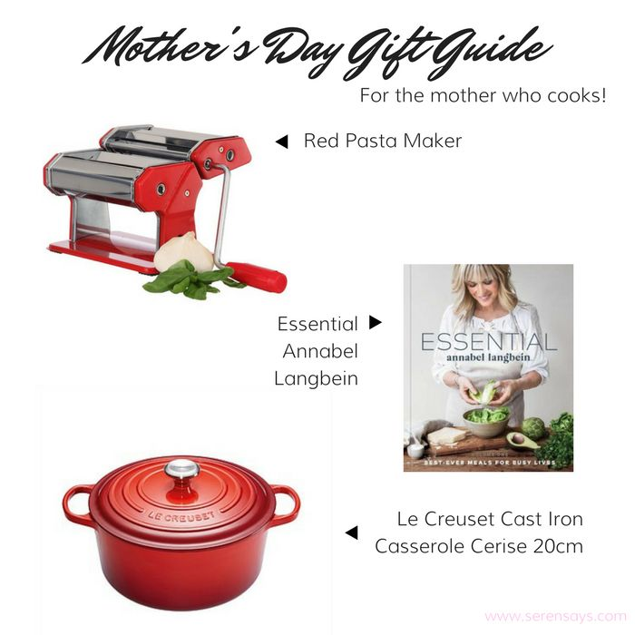 Mother's Day Gift Guide Part One Cooking | Serensays.com