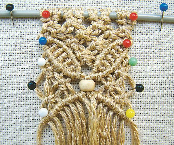 макраме для начинающих, макраме мастре класс, как плести макраме, макраме схемы плетения, техника макроме, макроме узлы, журнал Лена рукодел...