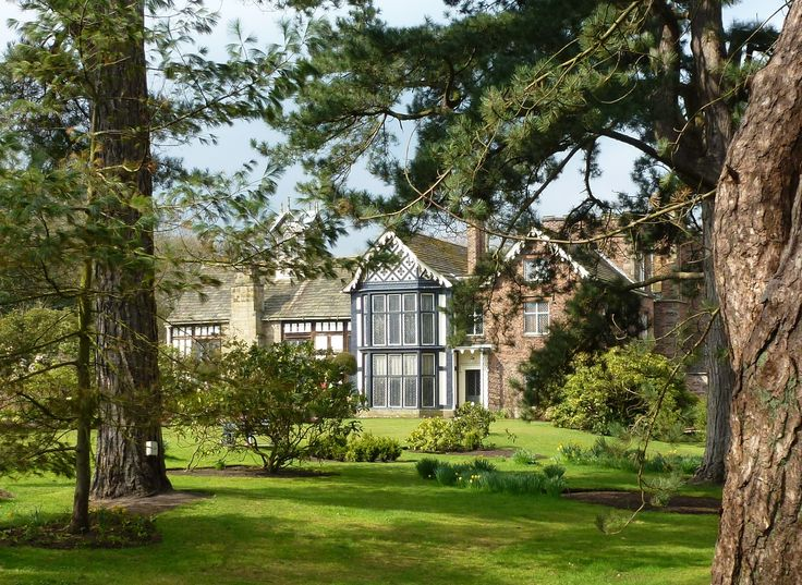 Rufford Old Hall, a tudor manor house in Lancashire run by the National Trust. Has a Shakespeare connection