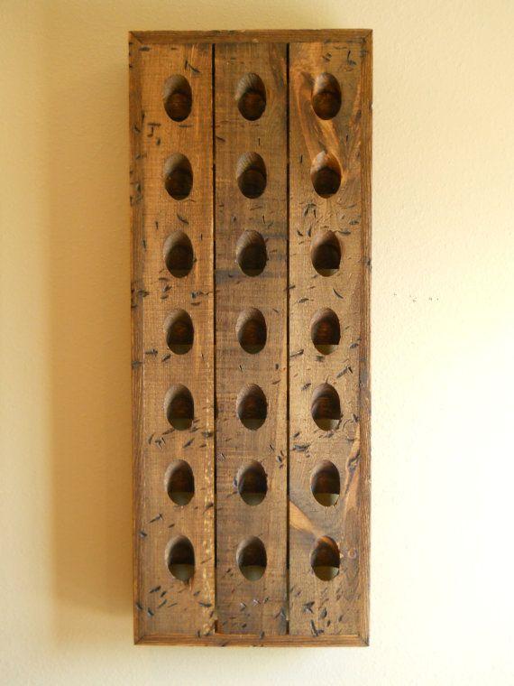 17 ideas about riddling rack on pinterest wine rack for Pottery barn wine rack wood