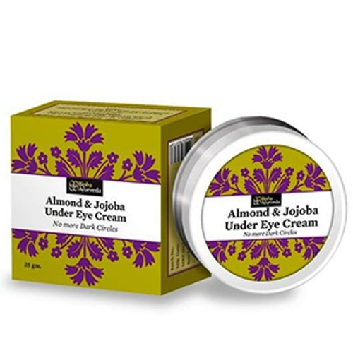 A safe, natural blend of herbs created to care for the delicate area around your eyes. It visibly reduces dark circles and protects the sensitive area under eyes. It removes puffiness, moisturises the under eye area and smoothens wrinkles and fine lines. Regular use gives a brighter and smoother eye contour.