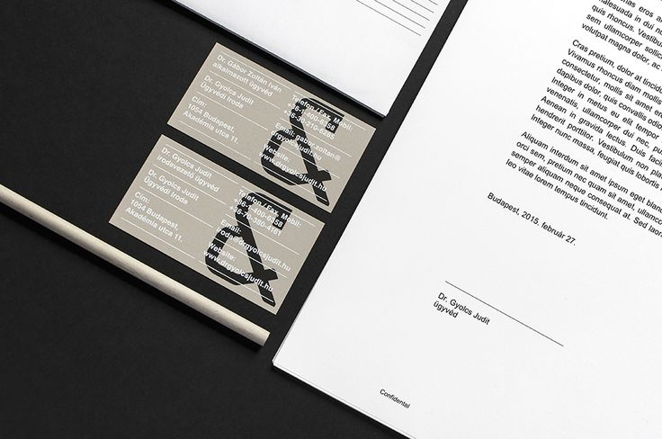 Judit Gyolcs Law Firm on Behance