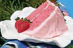 Homemade Strawberry Cake Recipe from Scratch - MissHomemade.com