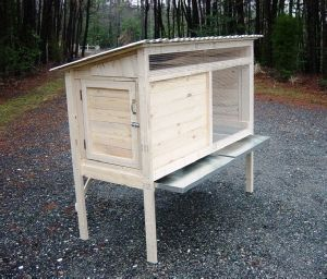 How to Build a 5 ft. Rabbit Hutch. DIY Wood Plans