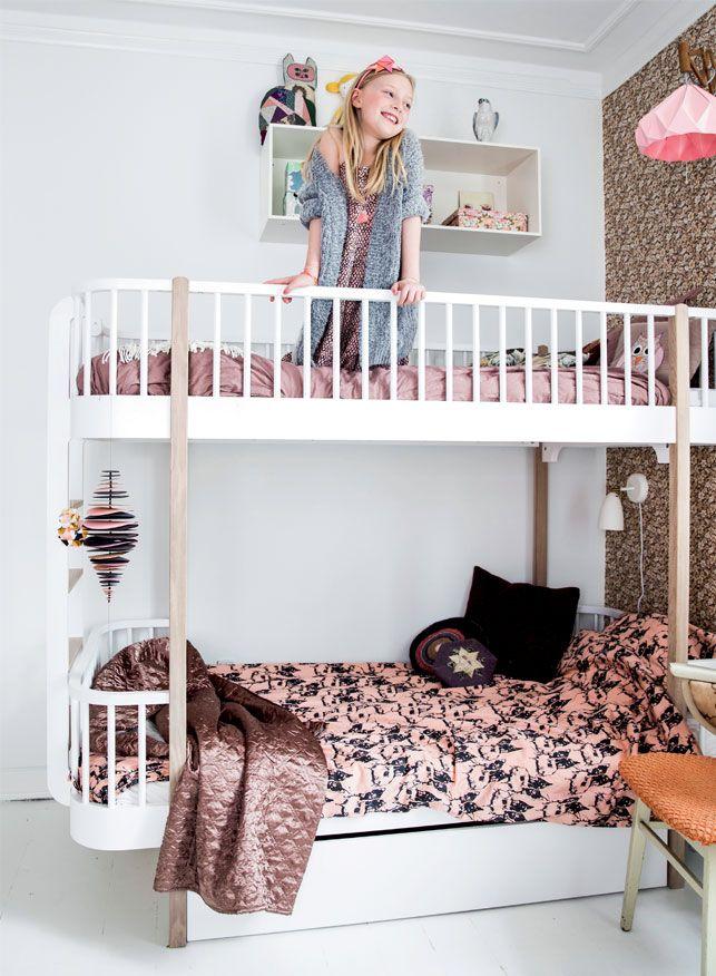 Boliglivdk Indretning For Kids Bunk BedsScandinavian StyleKidsroomKids BedroomKids ToysMetal BedsSpace