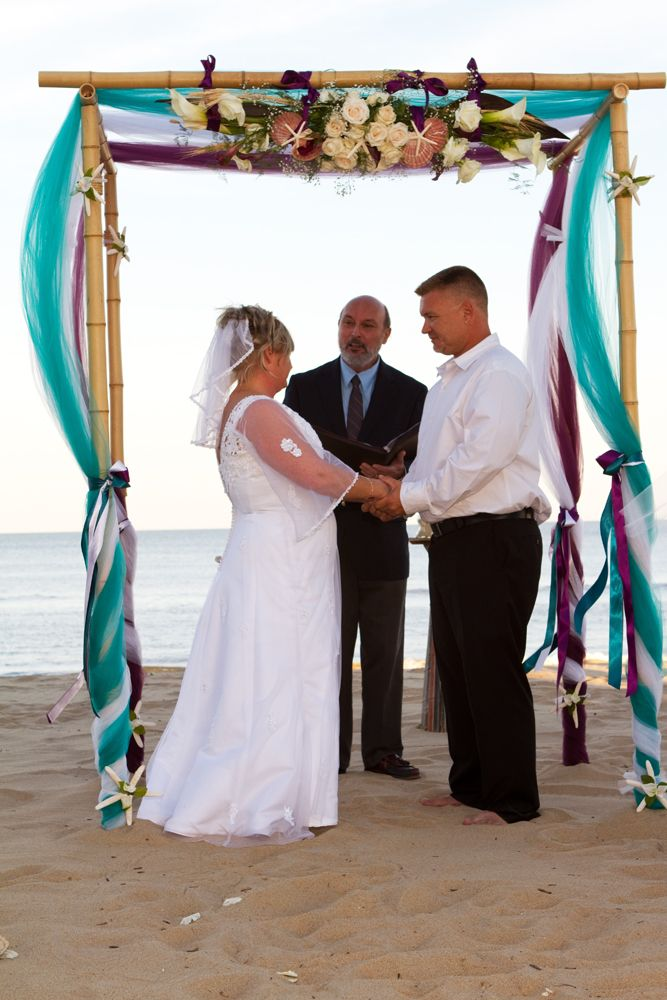 blue and purple wedding arches - Google Search