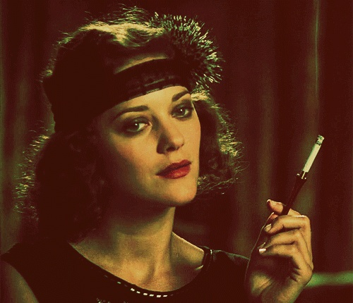 Marion in Midnight in Paris