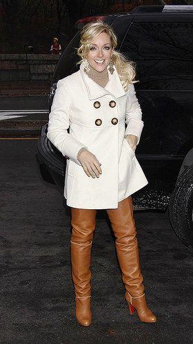 Jane Krakowski thigh boots