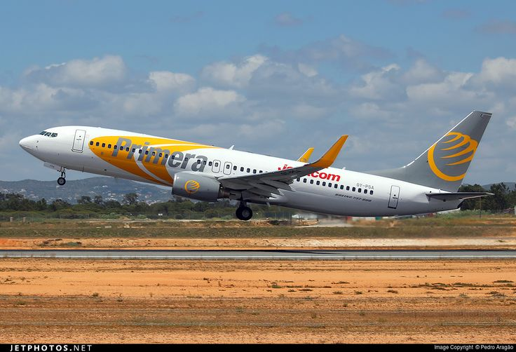 Boeing 737-8Q8, Primera Air Scandinavia, OY-PSA, cn 30688/2280, 189 passengers, first flight 22.5.2007 (Primera Air), Primera Air Scandinavia delivered 3.6.2009. Foto: Faro, Portugal, 26.5.2016.