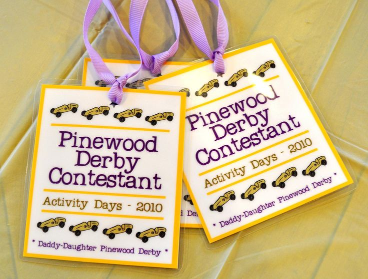 Pinewood Derby ideas for GIRLS. Cute idea for a Daddy/Daughter activity