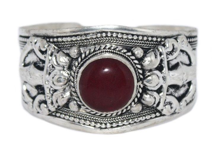 Quartz Bracelet Boho Bracelet Gypsy Bracelet Tribal Bracelet Adjustable Cuff Bracelet BB170