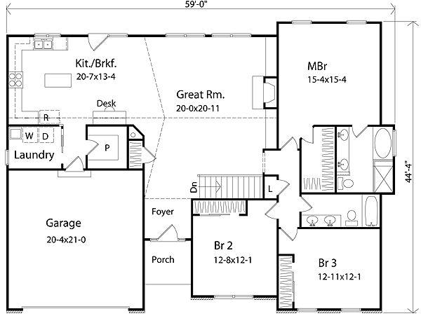 218 best House Plans images on Pinterest Log cabins Log cabin