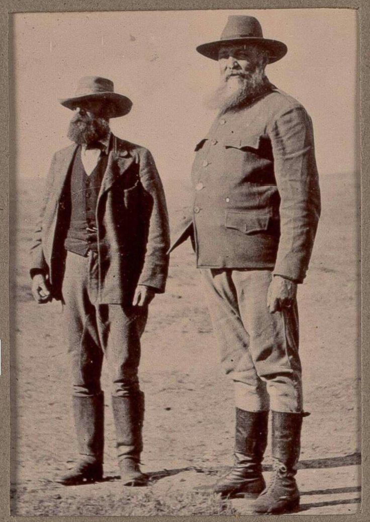 Generals De La Rey and Meyer