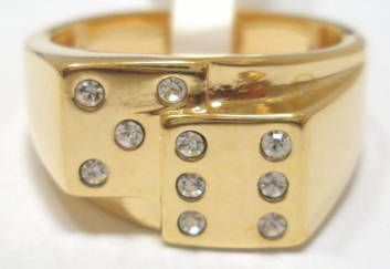 Por New Wedding Rings Dice