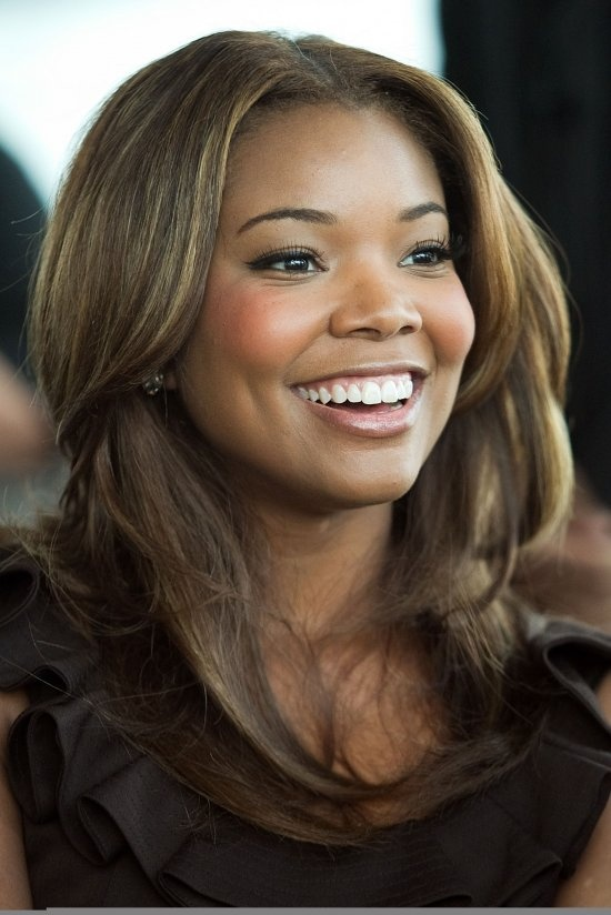 209 best gabrielle union images on pinterest actresses maybe i could pull of some blonde and light brown highlights like this for a summer pmusecretfo Choice Image