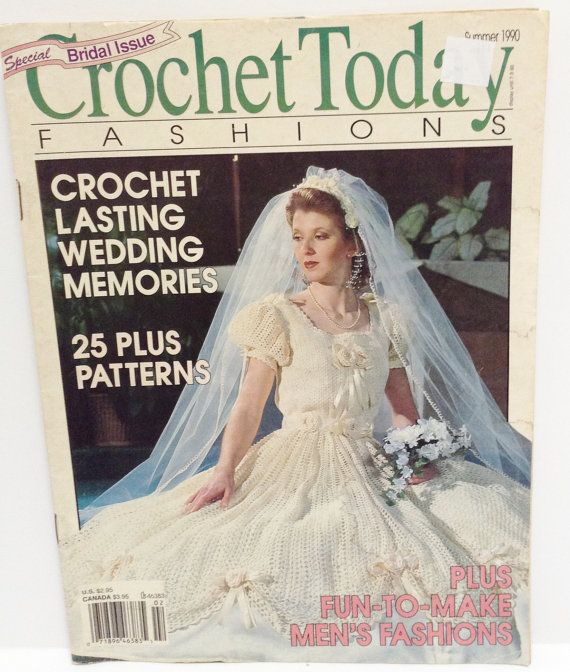 Crochet Today Magazine : Vintage Crochet Magazine Crochet Today 1990 by RaeOfLight on Etsy, $3 ...