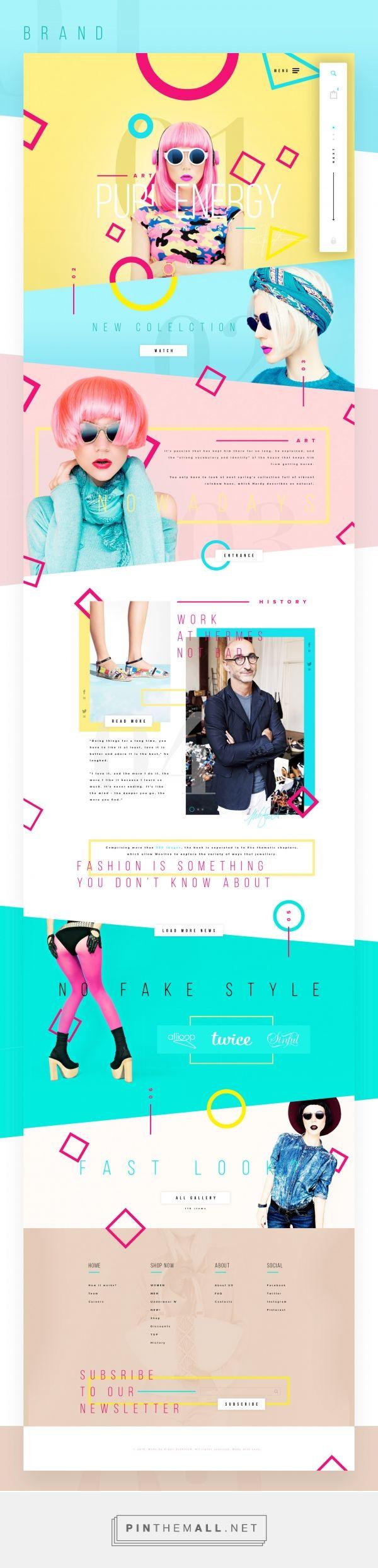 Fashion History Shop Web Design by Vitali Zahharov   Fivestar Branding Agency – Design and Branding Agency & Curated Inspiration Gallery