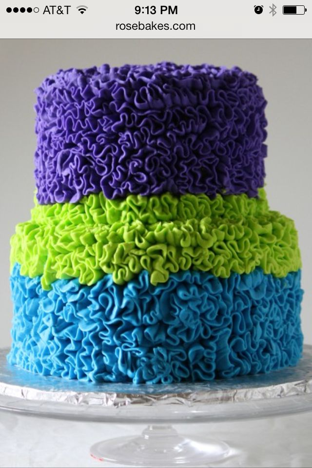 Cake Decorating Ruffle Tips : 38 best images about Ideas for petal tip on Pinterest ...