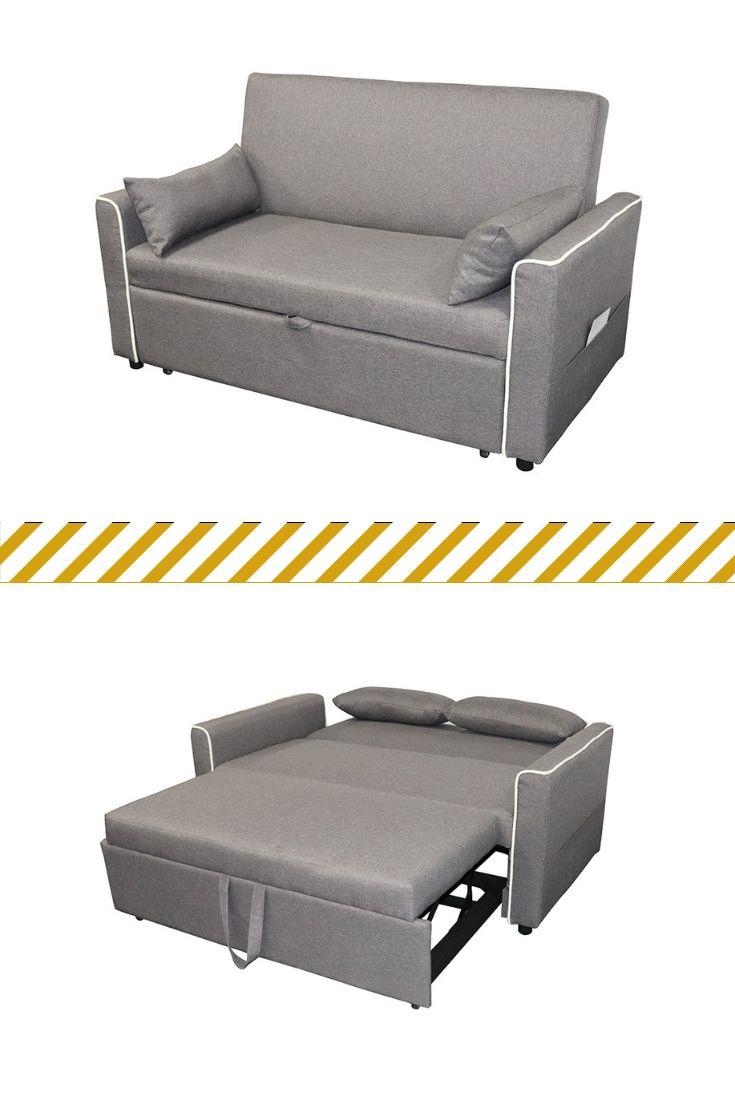 Abril Media Sleeper Mediasleeper Sofa Couch Sleepersofa