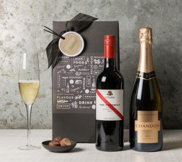 Sparkling And Red Duo | Wine & Champagne Gift Hampers | Gourmet Basket