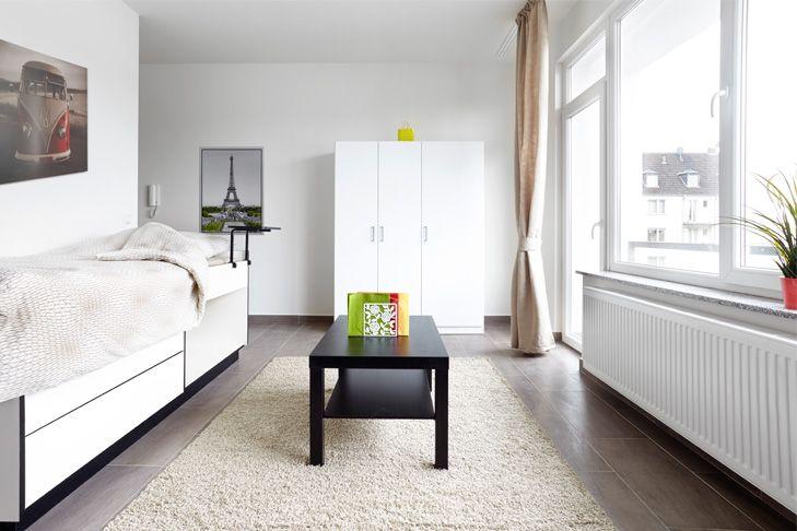 Die Vorteile einer fix und fertig ausgestatteten Wohnung genießen und in wenigen Minuten mit den öffentlichen Verkehsmitteln an den Hot Spots Ihrer Stadt sein - mit dem Neubauprojekt Student Living - Krefeld Cracau.
