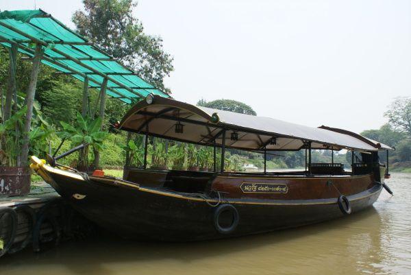 Cruising a Thai River