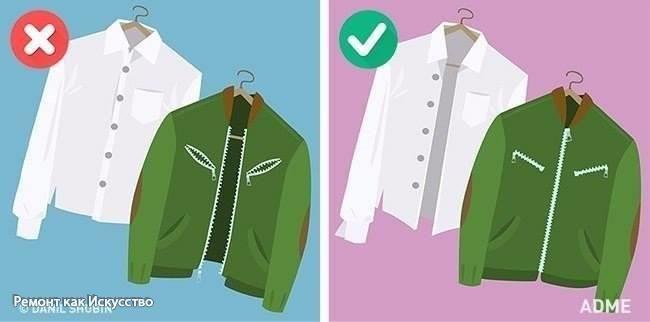 15 распространенных ошибок в стирке, которые портят одежду  Чтобы сохранить презентабельный вид одежды, нужно прежде всего правильно ее стирать. Мы расскажем о самых частых ошибках, которые могут стоить нам любимой вещи.  Неправильная сортировка. Кроме цвета, необходимо еще обращать внимание на тип ткани: флисовая одежда стирается только отдельно, а полотенца никогда не стирают вместе с синтетическими вещами. Неправильное удаление пятен. Не удивляйтесь дырке, если вы привыкли яростно тереть…